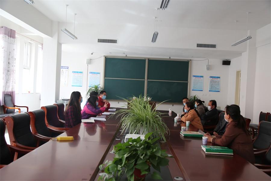 唐縣啓明高級中學高三年級家長座談會